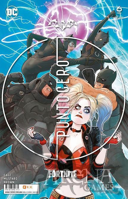 Batman/Fortnite: Punto Cero #06 - ECC