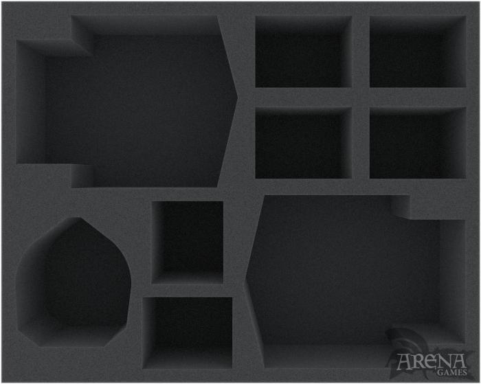 Bandeja de espuma para Plagueburst Crawler + Myphitic Blight-hauler + 6 miniaturas