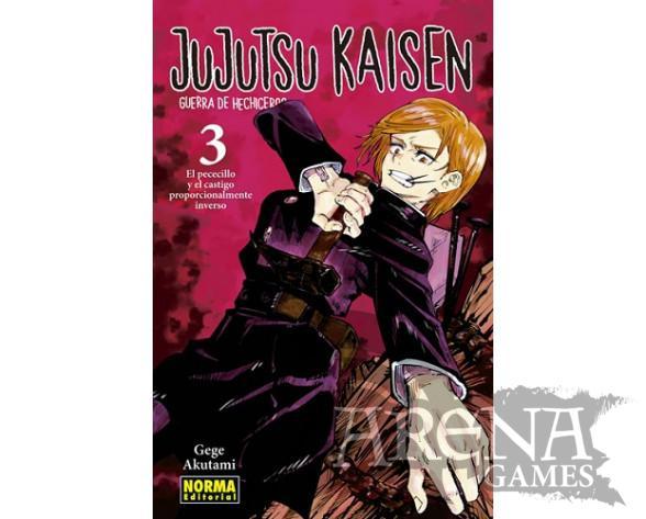 JUJUTSU KAISEN GUERRA DE HECHICEROS #03 - Norma