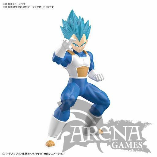 Dragon Ball – Figura Model Kit Super Saiyan God Vegeta