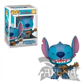 Funko - POP! Disney – 1044 Stitch with Ukelele