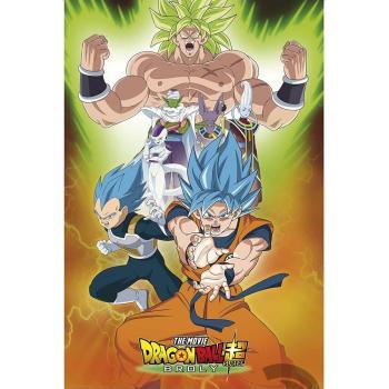 Poster 91,5x61 – Dragon Ball - Broly – Grupo