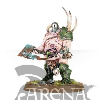 Nurgle Rotbringers Lord of Plagues   83-32
