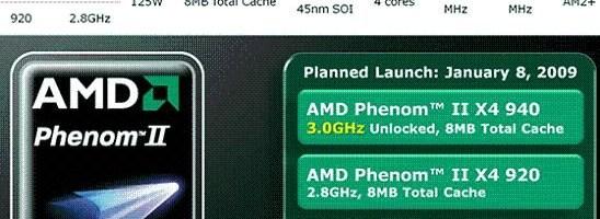 AMD aduce Phenom II