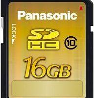 SDHC clasa 10 de la Panasonic