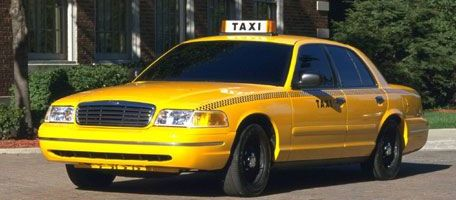 Doar taxiuri hibride in New York