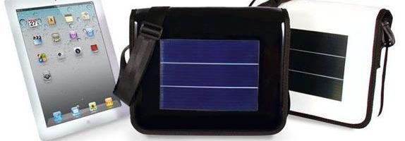 Mini L, geanta solara pentru iPad