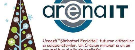 ArenaIT va ureaza Sarbatori Fericite!