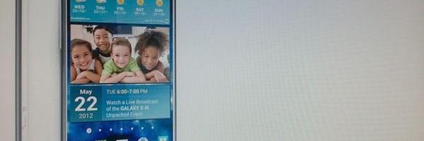Galaxy S III se va incarca wireless?