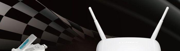 Router + stick Wi-Fi 802.11ac de la Edimax