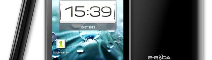 E-Boda intra pe piata de smartphone-uri