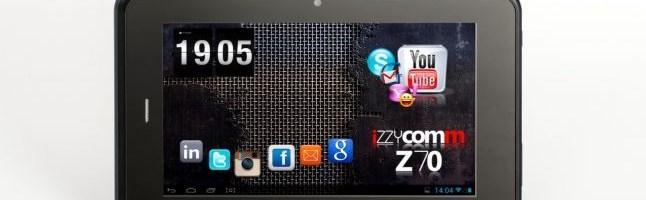 E-Boda Izzycomm Z70, tableta 3G de la E-Boda
