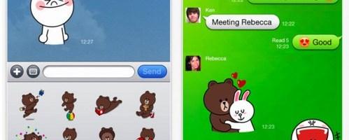 Line concureaza cu Viber, WhatsApp sau WeChat