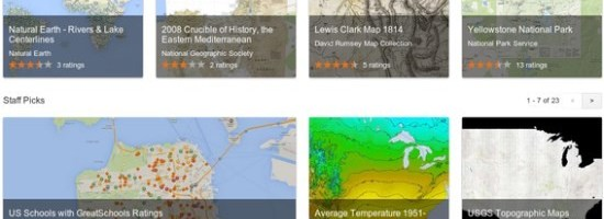 Google scoate Maps Gallery, un atlas digital