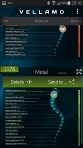 Vellamo Mettal - Samsung Galaxy S5