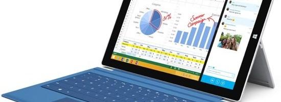 Microsoft lanseaza Surface Pro 3