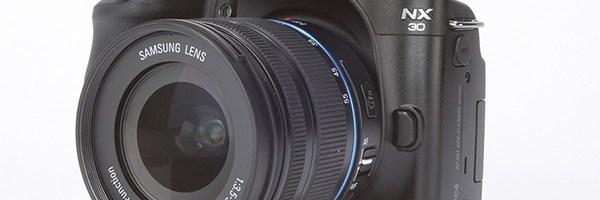 Review mirrorless Samsung NX30