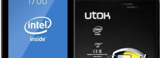 Utok i700, cea mai ieftina tableta cu procesor Intel
