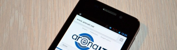 Evolio Onyx scurt review, un telefon ieftin si bun