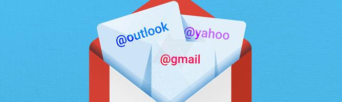 Noul GMail pentru Android ar putea suporta Yahoo si Outlook