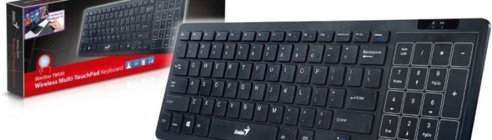 Scurt review tastatura Genius SlimStar T8020