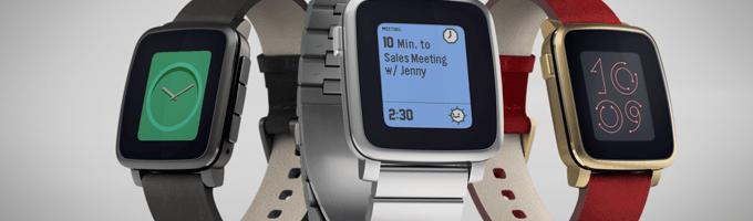 Pebble Time Steel lansat, tot pe Kickstarter