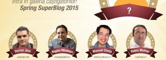 Spring SuperBlog 2015 la start
