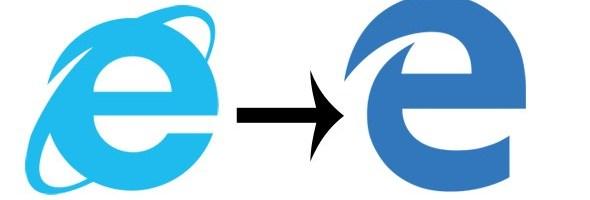 Logo-ul browserului Microsoft Edge seamana cu cel de la Internet Explorer