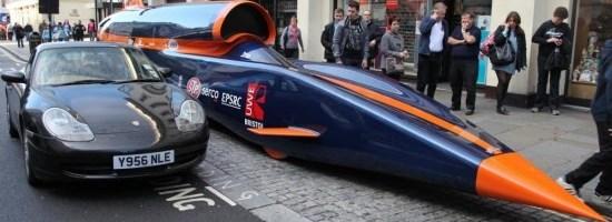 Bloodhound, masina de 135 000 cai putere si 1287 Km/h