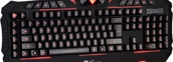 Impresiile despre tastatura Natec Genesis RX66