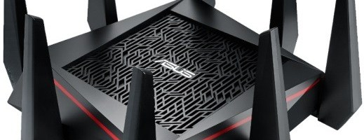 Asus RT-AC5300, router-ul paianjen
