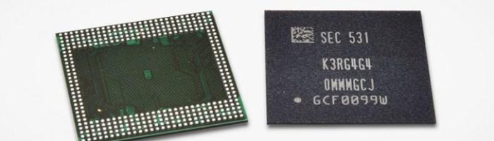 Samsung a inceput productia de memorii RAM de 6GB pentru telefoane