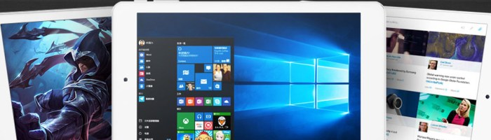 Cube iwork8 Ultimate: tableta de 8 inch cu Windows 10