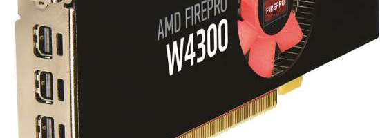 AMD pregateste FirePro W4300