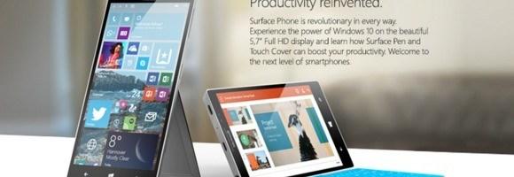 Se discuta din nou despre Surface Phone