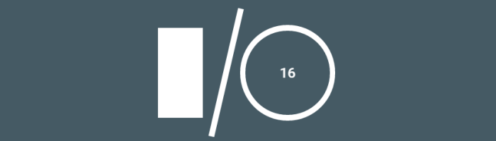 Google I/O 2016 are loc in mai