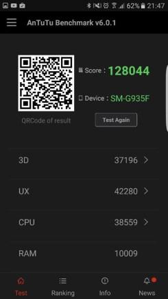 Samsung S7 Edge Review: AnTuTu #2