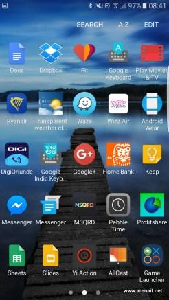 Samsung S7 Edge Review: Aplicatii #2