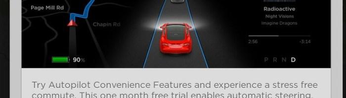 Tesla ofera o luna gratuita de Autopilot pentru Model S si X