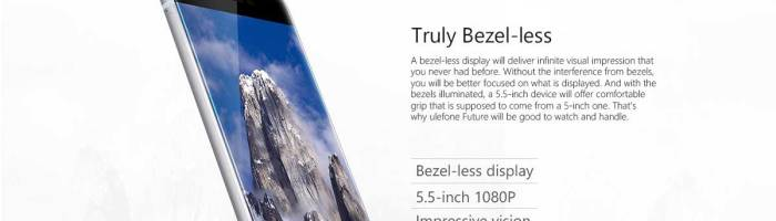 Ulefone Future – smartphone performant si aratos la un pret bun