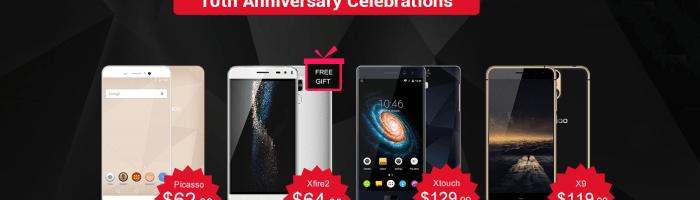 Reduceri la Bluboo: smartphone cu 2 GB RAM de la 63 $