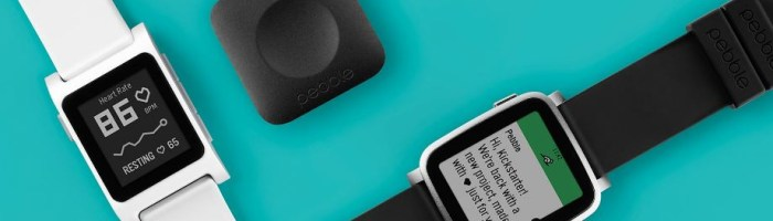Pebble 2, Time 2 si Core au fost lansate