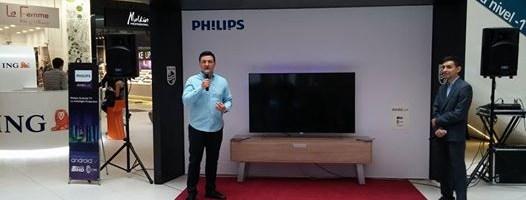 Philips a lansat in Romania televizorul 8901 cu AmbiLux