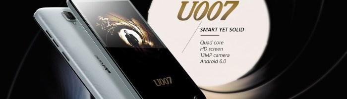 Ulefone U007: Android 6, quad-core, camera de 8 MP la 50 de dolari