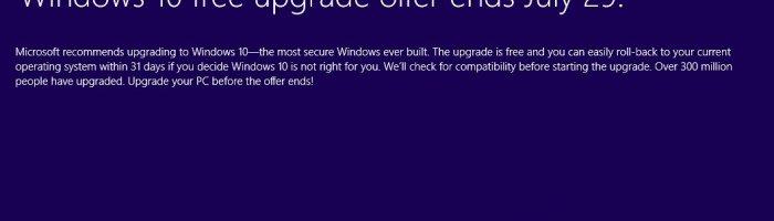 Microsoft devine si mai agresiv cu update-ul la Windows 10