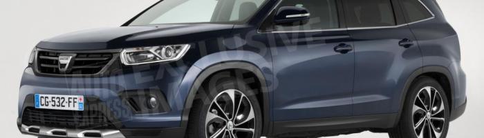 Dacia Grand Duster cu 7 locuri