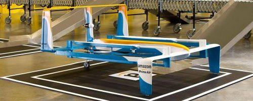 Amazon a primit unda verde pentru a testa dronele pentru Prime Air