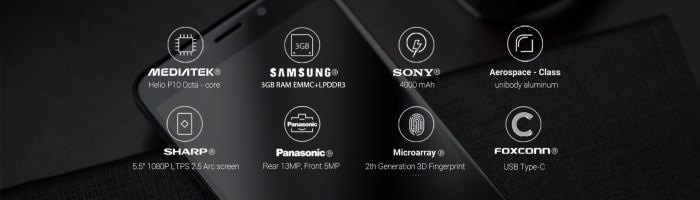 Umi Max – 140 de dolari pentru Helio P10, baterie de 4000 mAh si senzor de amprenta