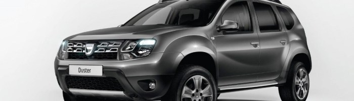 Dacia Duster cu cutie automata (EDC – dublu ambreiaj) anuntata la Paris
