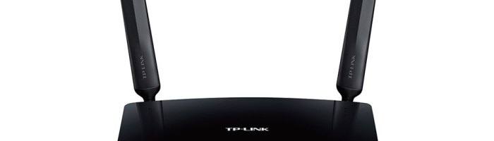 TP-LINK TL-MR6400: router wireless 4G-LTE (scurt review)